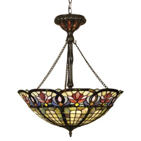 Hyacinth Tiffany Style Pendant Chandelier 20581 Write A Review Add Color And Light