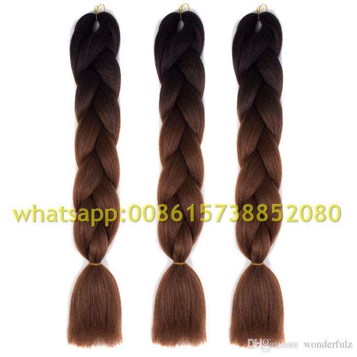 One Piece Ombre Kanekalon Braiding Hair Xpression Braiding Hair Kanekalon Jumbo Braid Hair Extension Expression Braiding Hair Jumbo Braids Synthetic Hair Extension Ombre Color Hair Online with $13.12/Piece on Wonderfulz's Store | DHgate.com