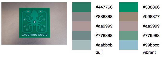 Color Palette Generator, An Online Tool for Generating a Color Palette From a Photograph