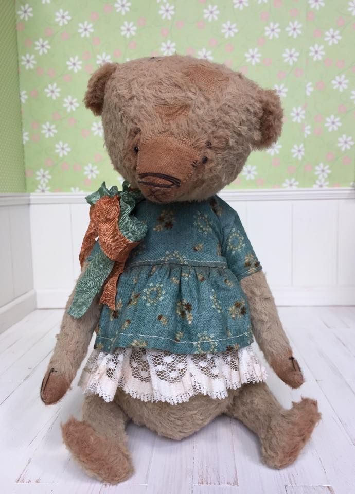 150$ + shipping, bear by Natali Sekreta, oak art doll