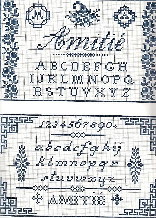 Gallery.ru / Фото #7 - 32 - tatasha cornocopia monogram cross stitch point de croix