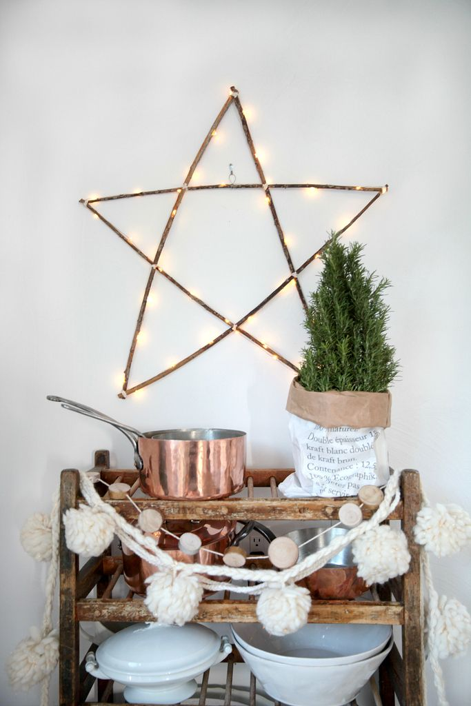 Modern + Cozy Christmas Kitchen | Seasons of Home Holiday Decor Series