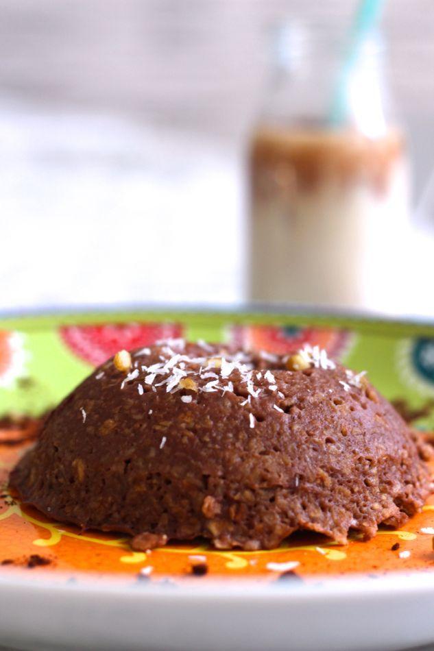 Bowl cake au chocolat, délicieux ! - Fille à fitness