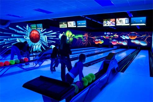Bowling Alley at Center Parcs Sherwood Forest by Center Parcs UK