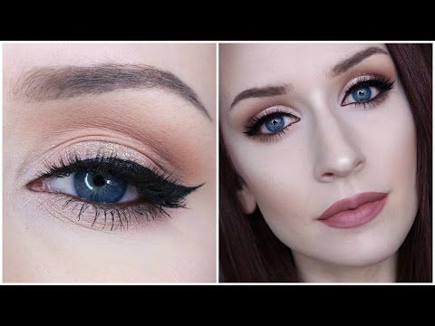 CHOCOLATE BAR PALETTE TUTORIAL | Holiday Makeup - YouTube