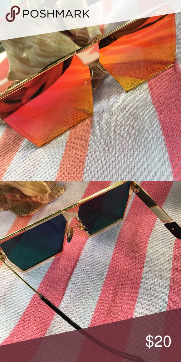 New! Oversized• square• mirror• aviator• sunglasse Like most items from my boutique the majority of these items have no tags but does come in a plastic bag. I took a picture to show how they look  without using flash. Please make reasonable offers only  no rude or lowballing   Brand new ✅ Not accepting OFFERS on INDIVIDUAL ITEMS ❌ No trades ❌ No tags❌  💥🔅Prices are FIRM🔅💥   *** not ray ban, listed only for visibility ****  If u have any questions plz ask before purchase is made Ray-Ban…
