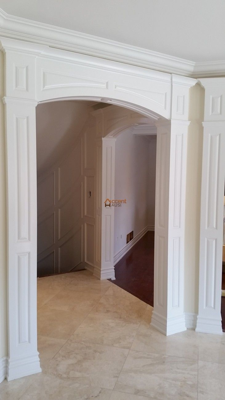 Modern Recessed Paneled Arch in a House Bolton