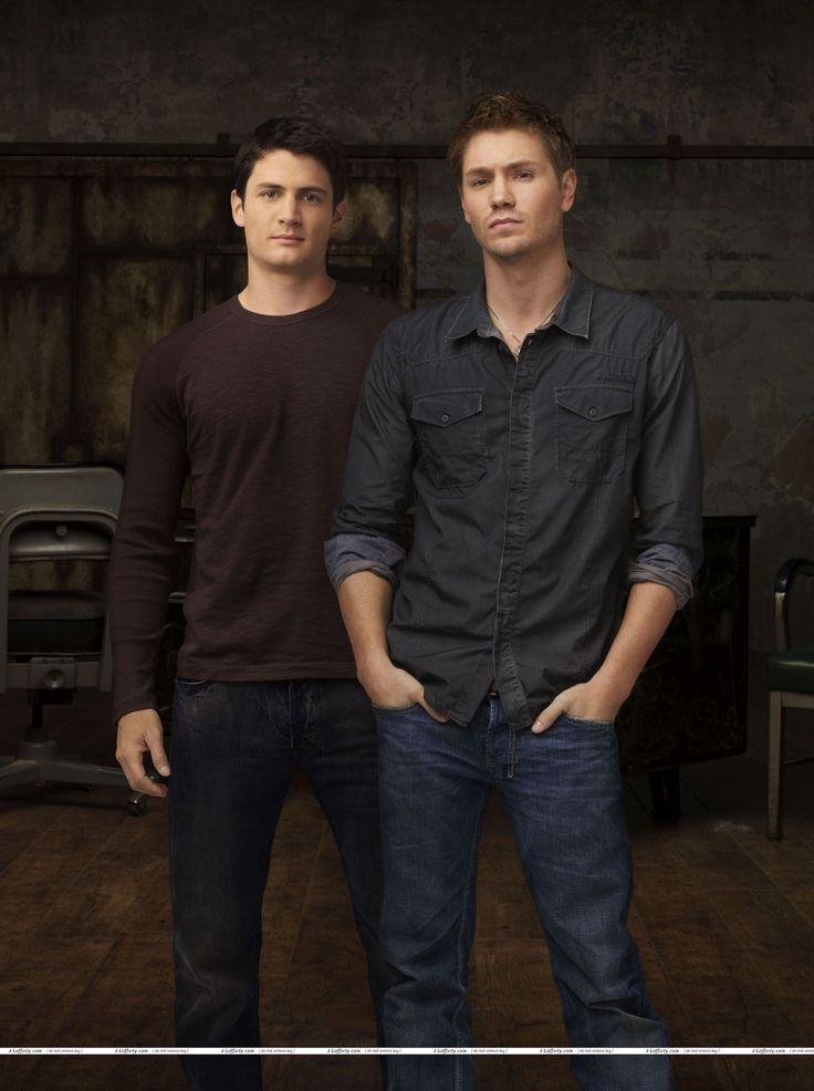 Nathan started as a boy and ended as a man and Lucas...vice versa...but they both looked good doin' it (yeah I watched OTH, haha)