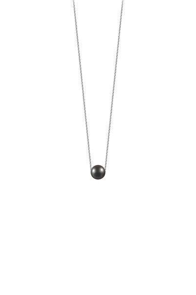 Necklace / Longcollar - pp n7 001 - Black Claverin on MonShowroom.com
