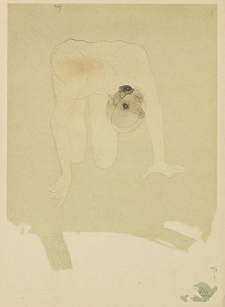Auguste Rodin, b.1870-1917  Camera Work XXXIV/XXXV, 1911  26.4 x 18.5 cm  Coloured Callotype