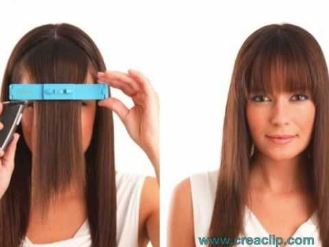 Surprising 17 Best Images About Creaclip On Pinterest Shoulder Length Bobs Hairstyle Inspiration Daily Dogsangcom