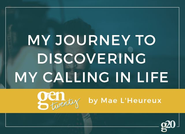 How I Discovered My Vocation
