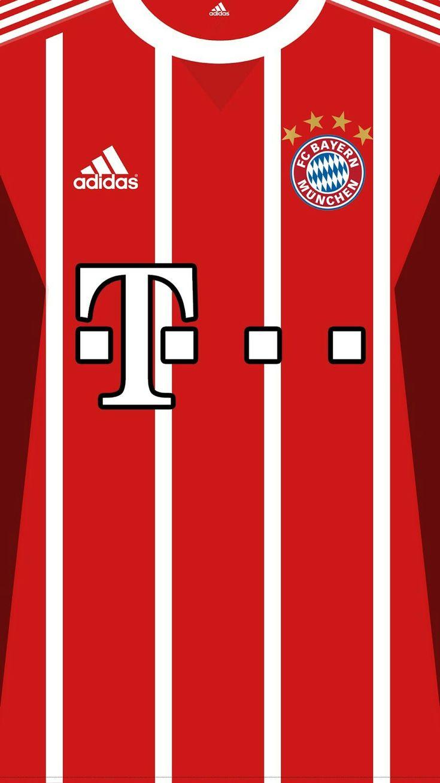 Bayern Munich 17-18 kit home