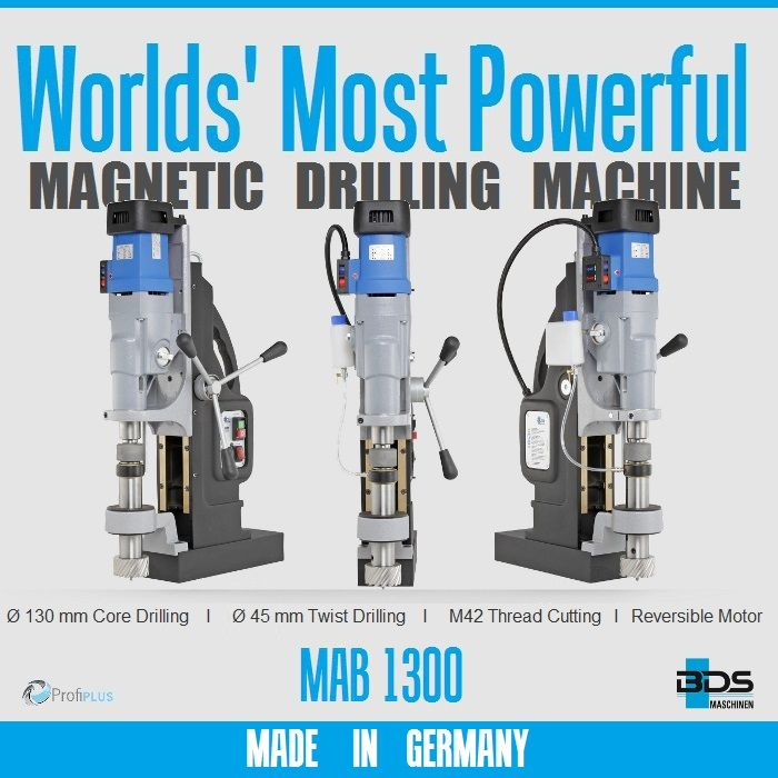 más poderosas máquinas de perforación magnéticos mundos