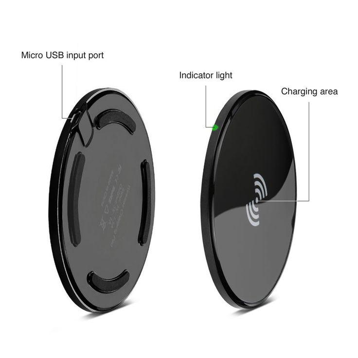 Ultra Slim Qi Wireless Charging Pad