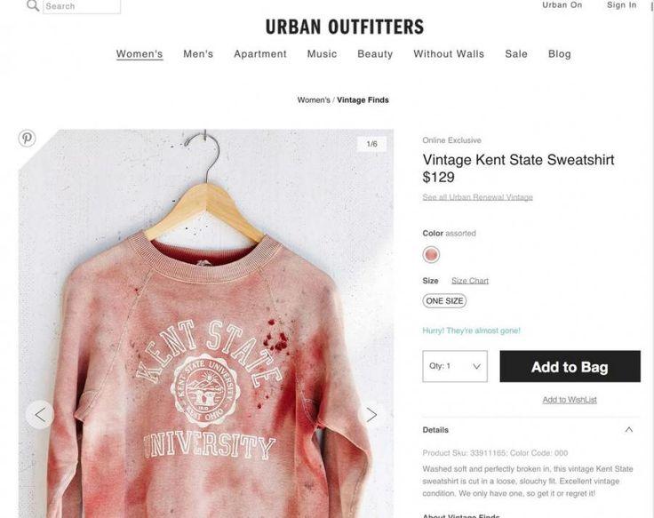 Urban Outfitters daje plamę