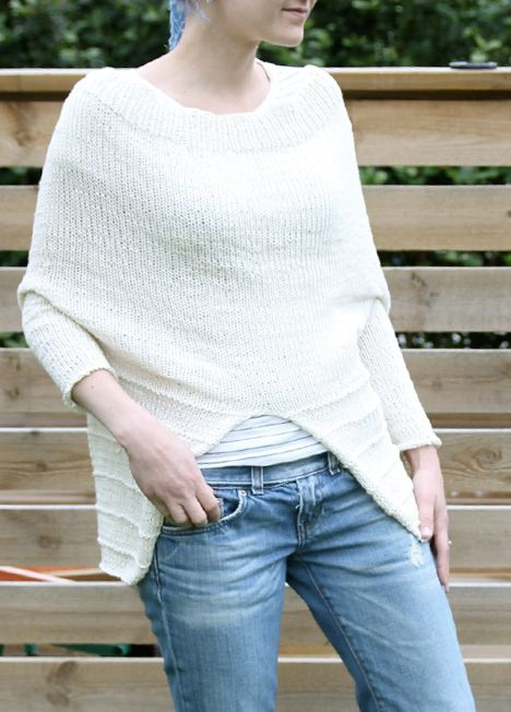 Knitting Pattern Upside Down Sweater : 17 Best images about Free patterns on Pinterest Cable ...
