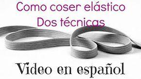 Cómo rellenar la bobina de la máquina de coser con hilo elástico - YouTube