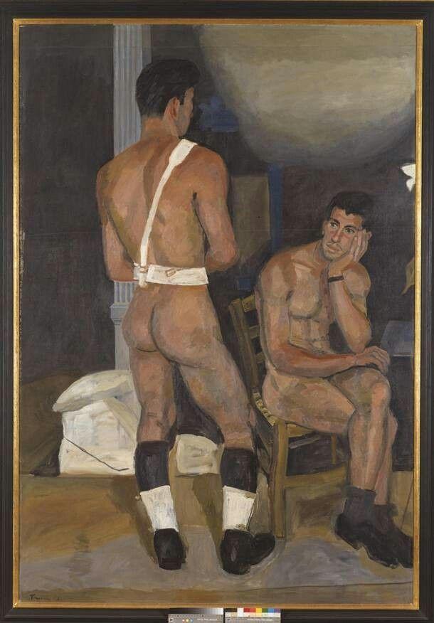 Giannis Tsarouxis, The Forgotten Guard, 1956