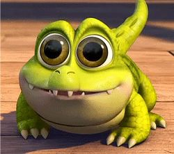 Baby Croc from The Pirate Fairy <3 <3 <3 Tick Tock, Tick Tock