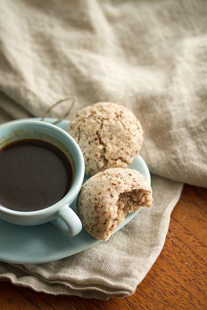 Assortment idea: Almond Joy - Chewy Amaretto Cookies (Amaretti Morbidi).