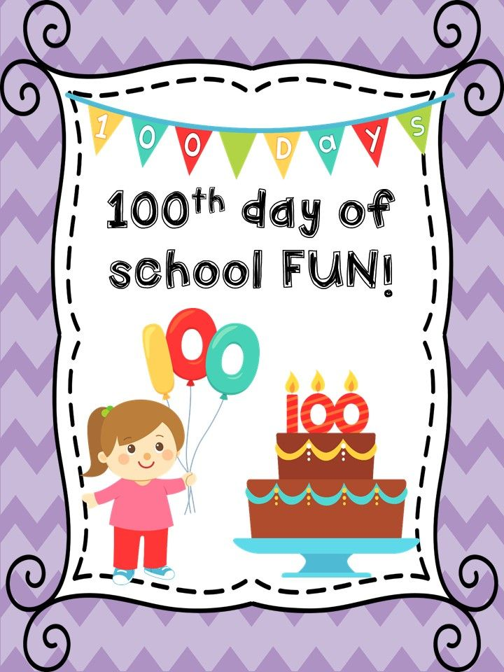 100th Day of School Activities! Free download!