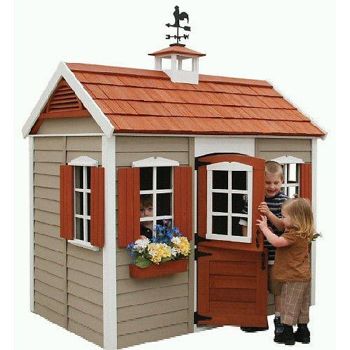 1000+ Ideas About Wooden Playhouse On Pinterest