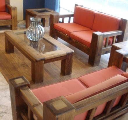muebles rusticos de madera buscar con google