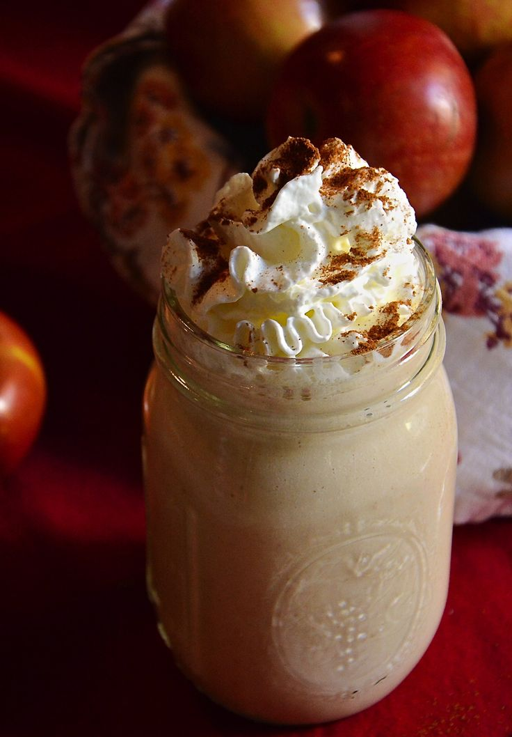 Peanut Butter Oatmeal Apple Smoothie | The Housewife in Training Files