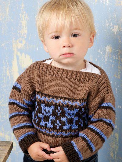 Knitting - Patterns for Children & Babies - Sweater Patterns - Baby Bear