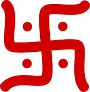 Swastika is a Brahmin symbol, which means 'to be good'