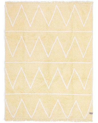Teppich HIPPY (120x160) in gelb von Lorena Canals ✔ Kompetenter Service ✔ Jetzt bei tausendkind kaufen!