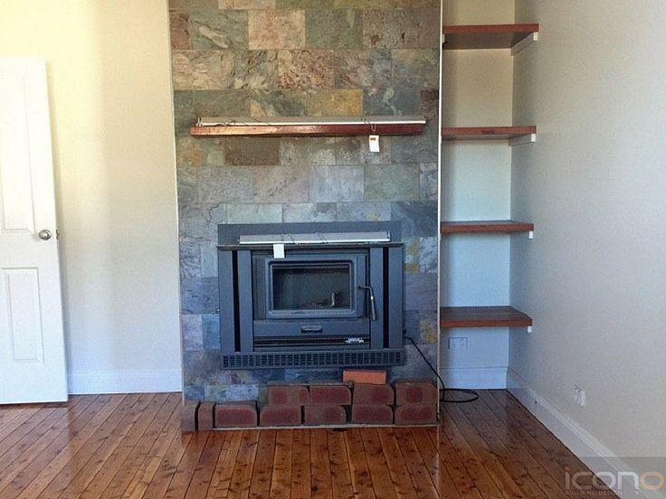 #fireplace #familyroom #storage #Australianhomes #floorboards #iconobuildingdesign
