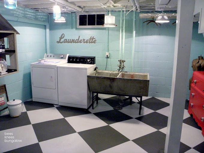 25 best cheap basement ideas on pinterest cheap for Affordable basement flooring
