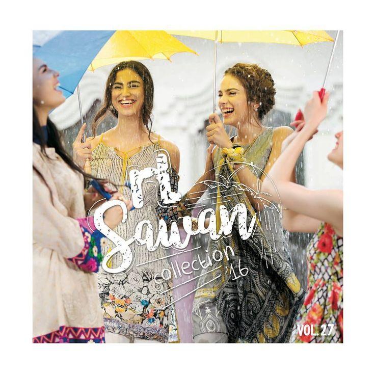 Nisha Unstitched Sawan Collection Vol-27 2016-17