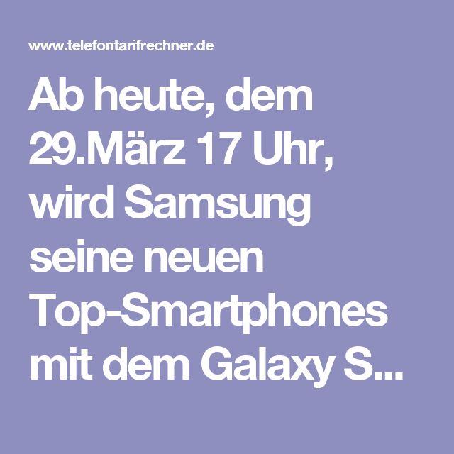Ab heute, dem 29.März 17 Uhr, wird Samsung seine neuen Top-Smartphones mit dem Galaxy S8 und S8 Plus in London vorstellen. Dabei wird die Präsentation auch in einem Livestream bei Youtube um 17 Uhr Ortszeit in Deutschland zu sehen sein. Immerhin kann man so sich gleich eine Vorstellung der neuesten Smartphone Modell von Samsung machen, ohne erst im Internet zu recherchieren.