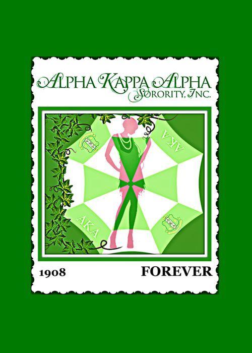 Alpha Kappa Alpha Greeting Card