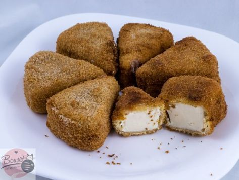 Rántott mackósajt (vagy Medve sajt) – Bouvet