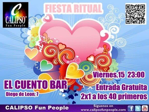Fiesta Calipso Fun People en El Cuento. 15 de febrero de 2013. Singles Madrid. Copas en Madrid. Ocio nocturno.