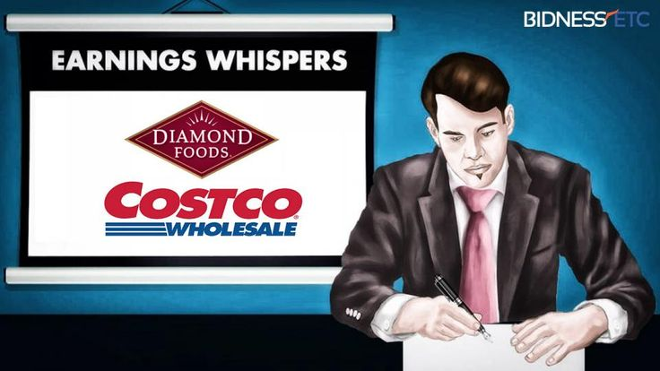 Bidness Etc takes a look at what earnings whispers are saying regarding the upcoming earnings of Costco Wholesale Corporation (NASDAQ:COST) and Diamond Foods, Inc. (NASDAQ:DMND).