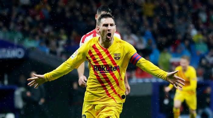 Latest News For Messi Scores Late Goal As Barcelona Extends