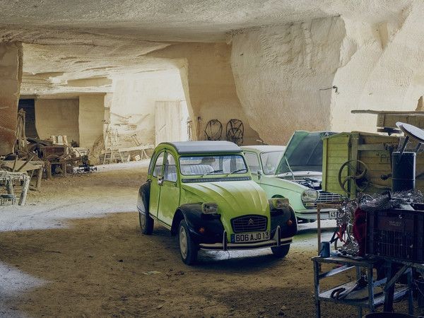 Talk about a man cave. Lolo Mauron, a 92-year-old bachelor, has filled his den in the south of France with vintage cars and tools. And his digs are literally that: caves carved by the Romans into the limestone hills outside the town of Saint-Rémy-de-Provence.