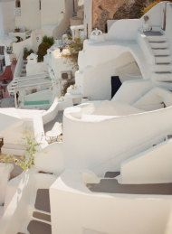 These Photos Will Convince You To Elope in Santorini ASAP - Style Me Pretty