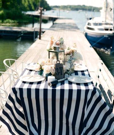 Nautical Party Decor | Stylish Nautical Party Decorations