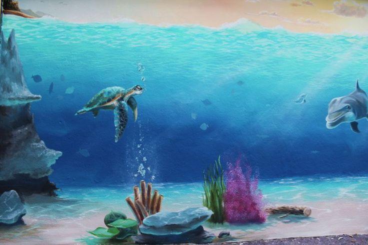 40 best malerei wandmalerei images on pinterest alternative murals and wall drawing - Malerische wohnideen ...