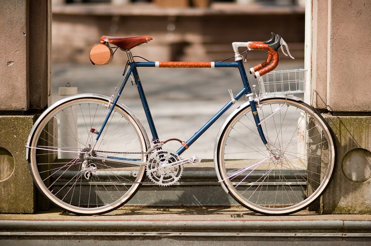 650b Randonneur with Handmade Leather Detail | Flickr - Photo Sharing!