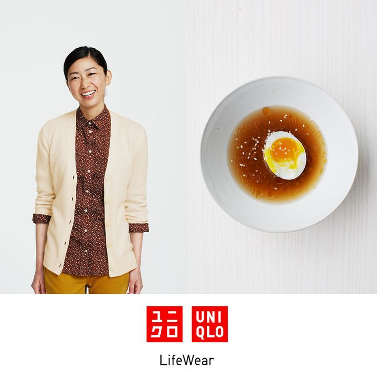 UNIQLO RECIPE - Buckwheat Soup with Six-Minute Eggs