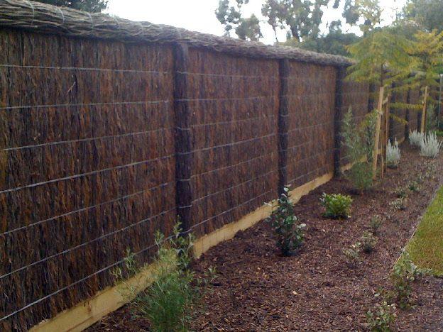 Brush Fence Photo Gallery
