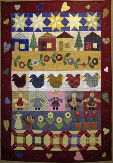 Quilt Sewing, Quilts Patterns, Spool Quilt, Beautiful Quilts, A Quilts ...