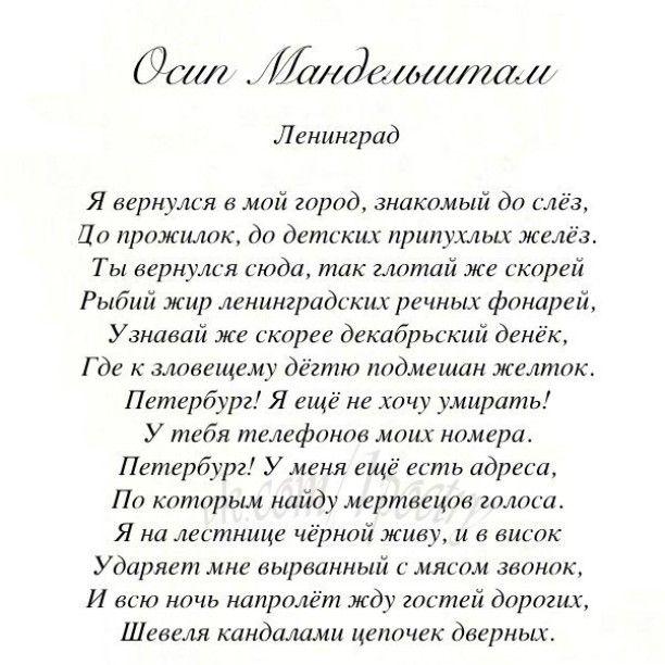 #литература #стихотворение #поэзия #стихи #мандельштам